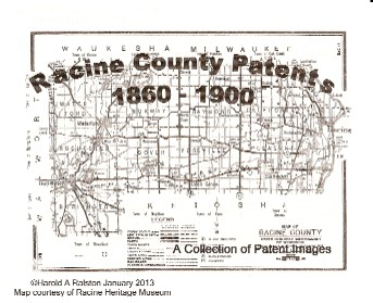Front Page Racune County Patents1860-1900 (37K)
